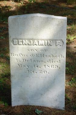Benjamin F Delano