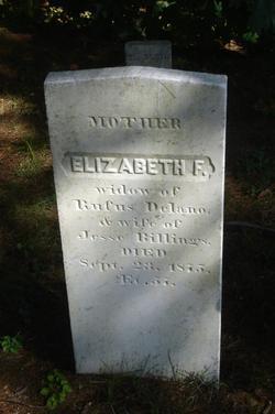 Elizabeth F Delano