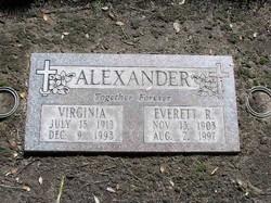 Everett Richard Alexander