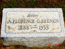 Anna Florence <I>Gray</I> Keenen