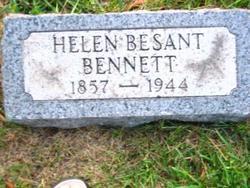 Helen <I>Besant</I> Bennett
