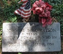 Johnnie B. Robertson