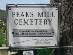 Peaks Mill Christian Church Cemetery