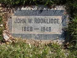 John W Rooklidge