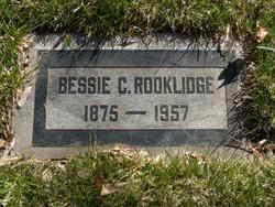Bessie Carroll <I>Crane</I> Rooklidge