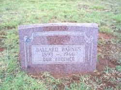 Thomas Ballard Barnes