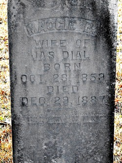 """Margaret B. """"Maggie"""" <I>Eakins</I> Dial"""