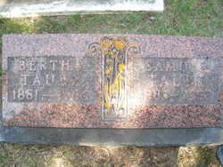 Bertha Albertina Taube