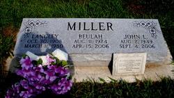 John Langley Miller, Sr