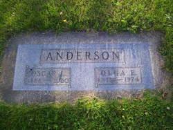 Olga E <I>Aho</I> Anderson