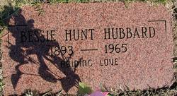 Bessie <I>Hunt</I> Hubbard