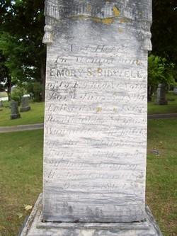"Emory Smith ""Emery"" Bidwell"
