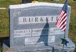 Christina <I>Emerick</I> Burkett