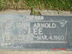 John Arnold Lee