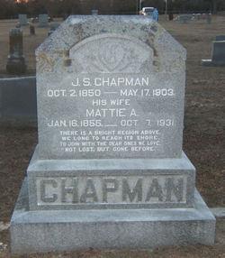 Mattie A <I>Harper</I> Chapman