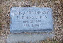 Mary Ann Tharby <I>Flinders</I> Evans