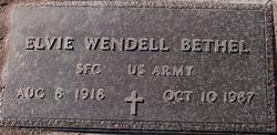 """Elvie Wendell """"Hop"""" Bethel"""