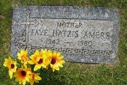 "Faye Jennifer ""Sukie"" <I>Hatzis</I> Amers"