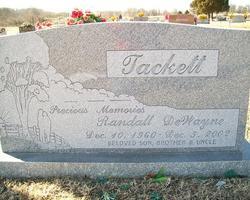 Randall DeWayne Tackett