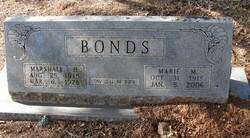 Marie Madaline <I>Jordon</I> Bonds