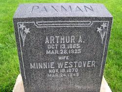 Minnie <I>Westover</I> Paxman