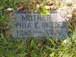 Sophia Elizabeth <I>Eades</I> Rhodes