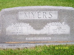 "William Joseph Lawrance ""Joe"" Myers"