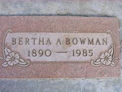 """Bertha Anne """"Betty"""" <I>Davis</I> Bowman"""