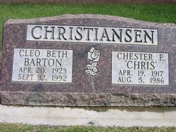 """Chester E. """"Chris"""" Christiansen"""