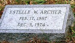 Anna Estelle <I>Wright</I> Archer