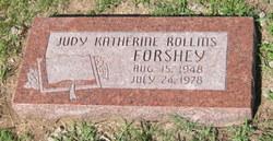 Judy Katherine <I>Rollins</I> Forshey