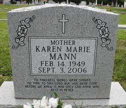 Karen Marie <I>Nortman</I> Mann