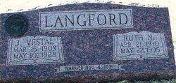 Rev James Vestal Langford