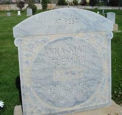 Anna Mary <I>Fleming</I> Fleming