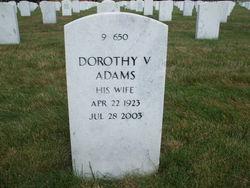 Dorothy V. <I>Dean</I> Adams