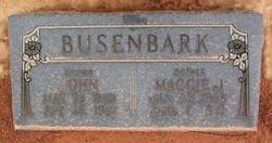 Maggie Clark Robertson <I>Jamieson</I> Busenbark