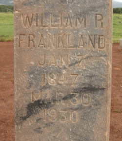 William Richard Frankland