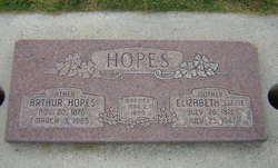 Elizabeth <I>Twissell</I> Hopes