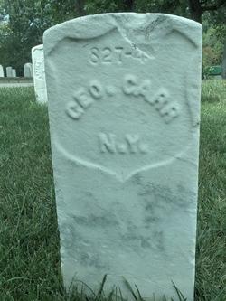 Pvt George Carr