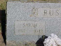Sarah A. <I>Brashear</I> Rush
