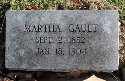 "Martha ""Mattie"" <I>Cloud</I> Gault"