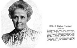 Sophronia Maria <I>Westcott</I> Talbot
