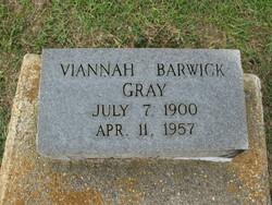 Viannah <I>Barwick</I> Gray