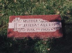 Julia <I>Bramble</I> Allen