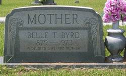 "Margaret Alice ""Allie Belle"" <I>Thomas</I> Byrd"