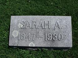 Sarah A. <I>Norris</I> Bennett