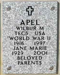 Wilbur M Apel