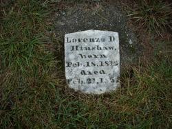 Lorenzo D. Hinshaw