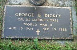 George B Dickey