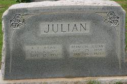 Pernecia Ann <I>Thedford</I> Julian